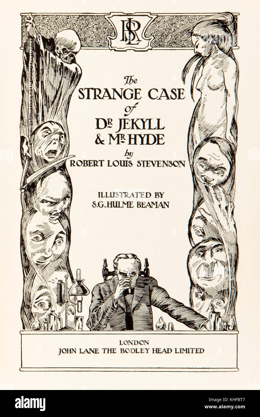 strange cases of dr. jekyll and mr. hyde by robert louis stevenson essay Strange case of dr jekyll and mr hyde, by robert louis stevenson, is a novella published in the 1880s that deals with the duality of human nature the story is told from the point of view of mr gabriel john utterson.