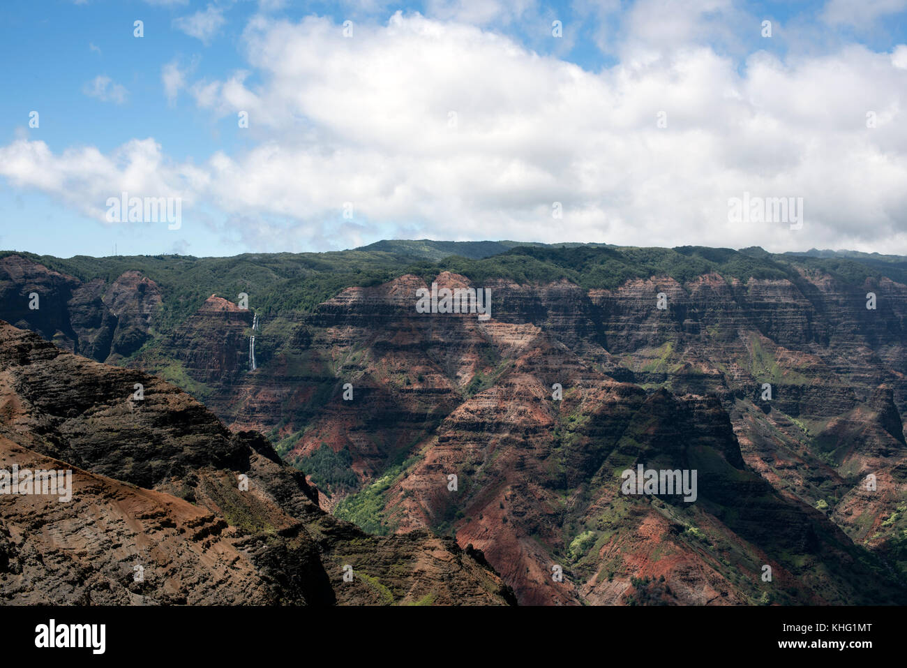 Waimea Canyon - Stock Image