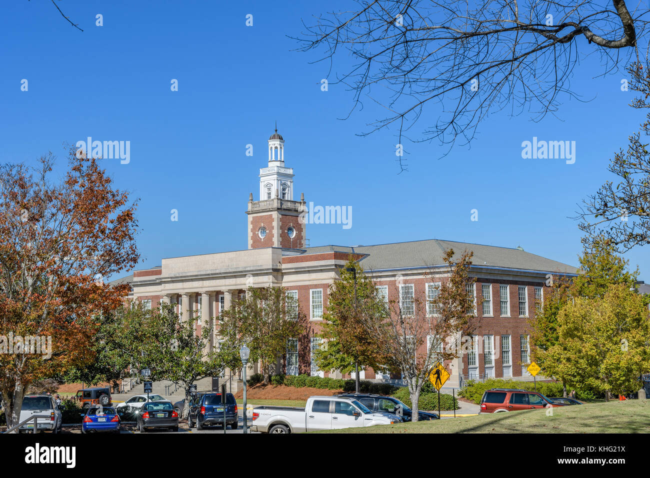 Ross Chemical Laboratory building on the campus of Auburn University, an American university / college in Auburn - Stock Image