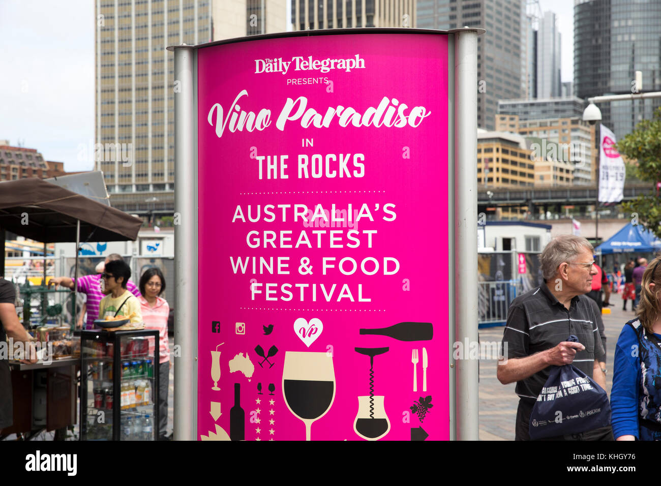 Wine And Food Festival Sydney  November