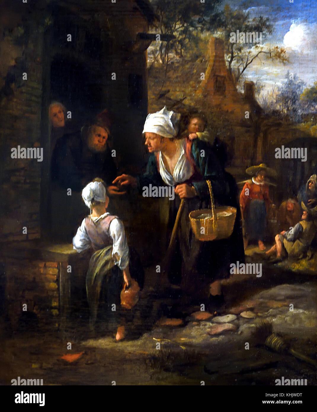 Jan STEEN 1626 - 1679 Dutch Netherlands - Stock Image