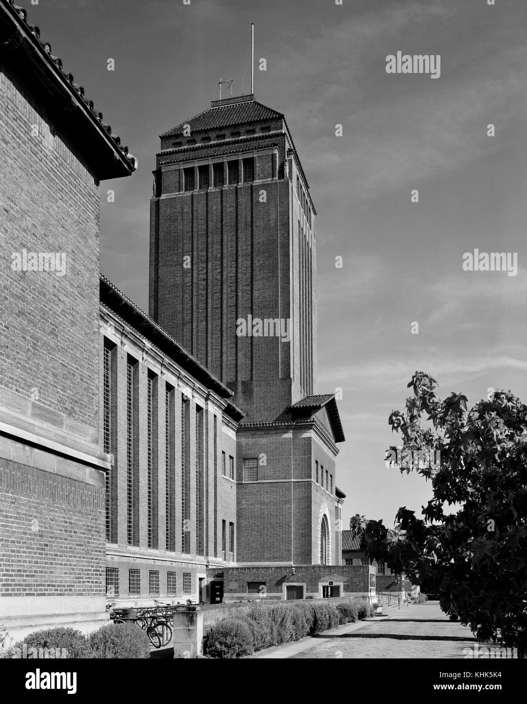Cambridge University Library - Stock Image