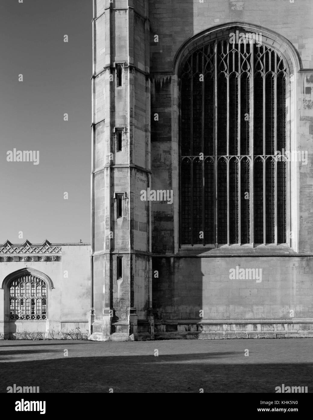 King's College Chapel Cambridge - Stock Image