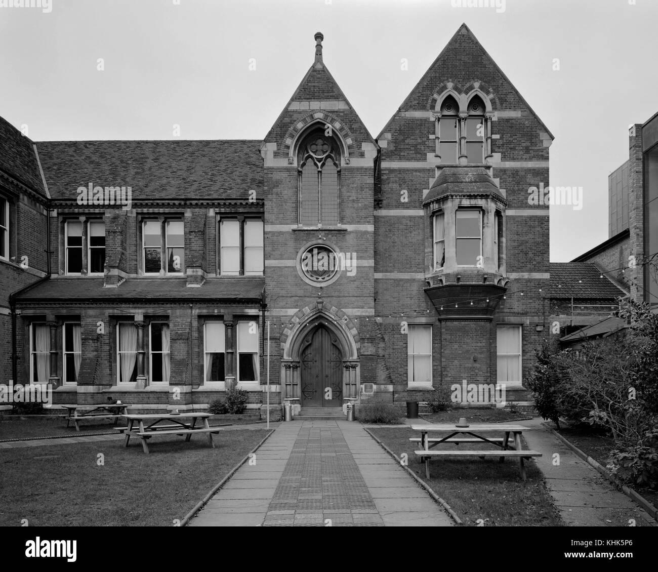 The Cambridge Union Society of Cambridge University - Stock Image