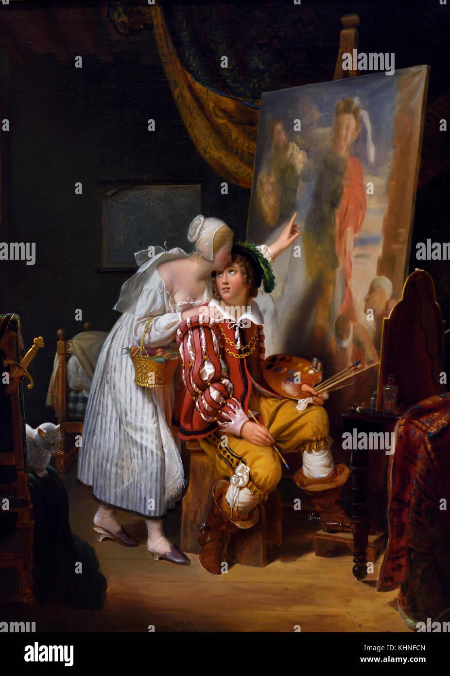 by Antoon - Anthony van Dyck 1599 - 1641 Flemish Belgian Belgium - Stock Image