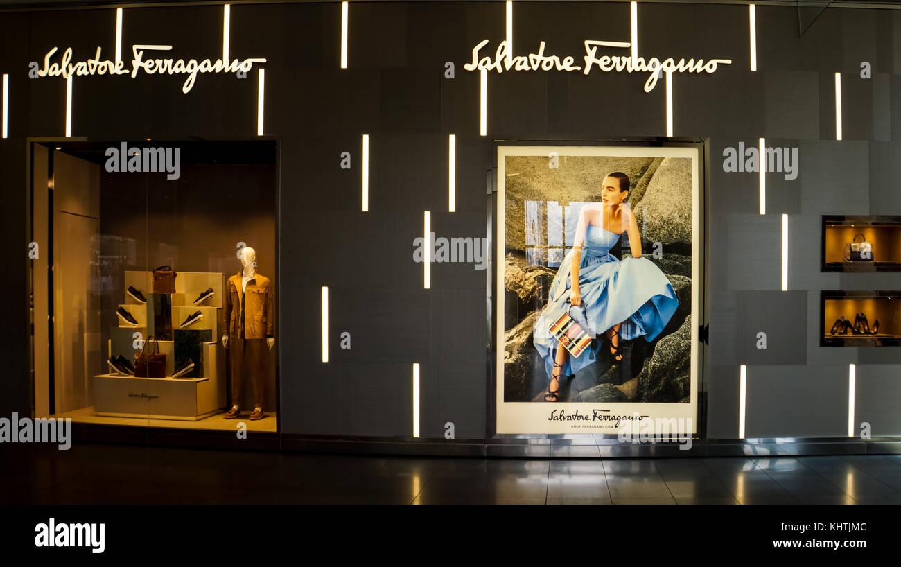 Boutique Salvatore Ferragamo Stock Photos & Boutique ...