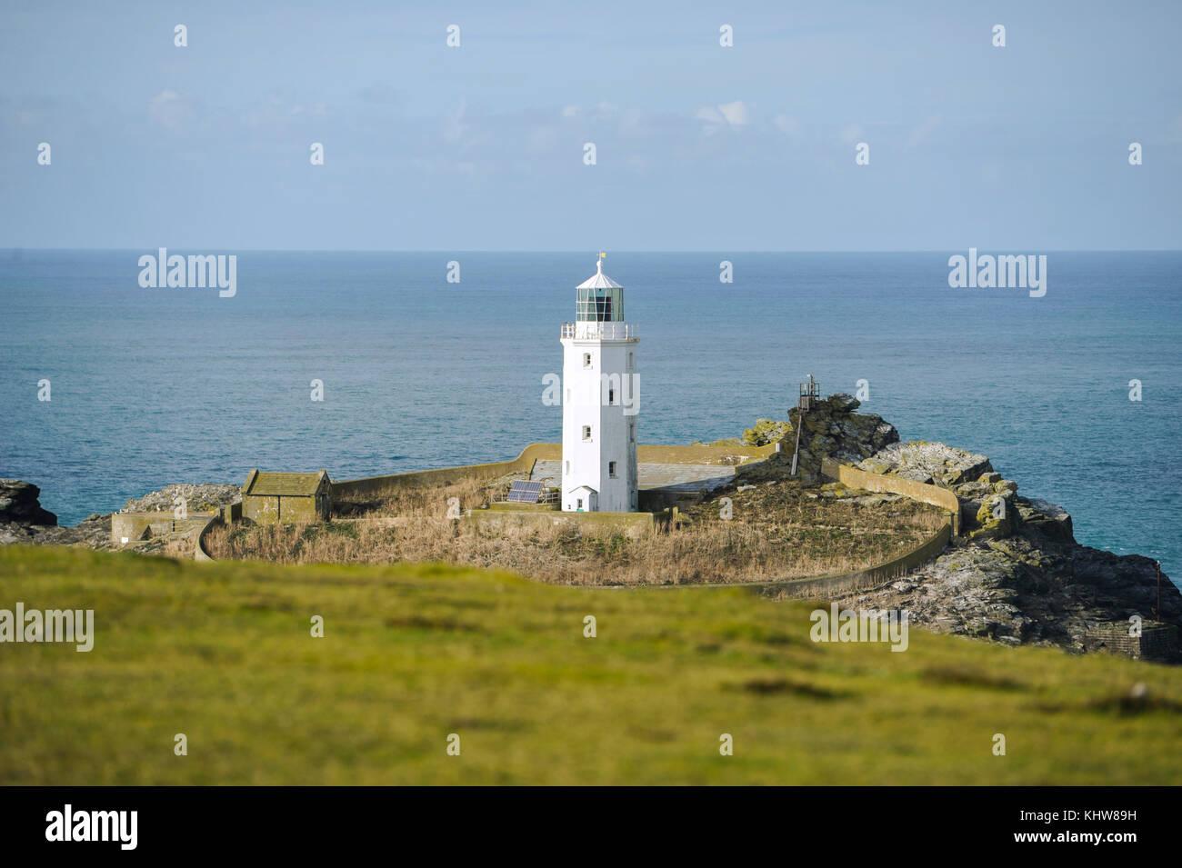 Godrevy Island Lighthouse Uk