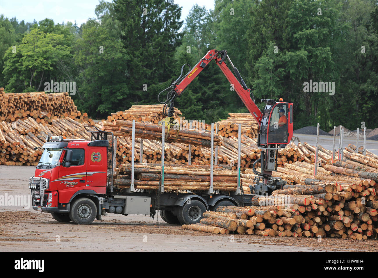 Hiab Stock Photos Amp Hiab Stock Images Alamy