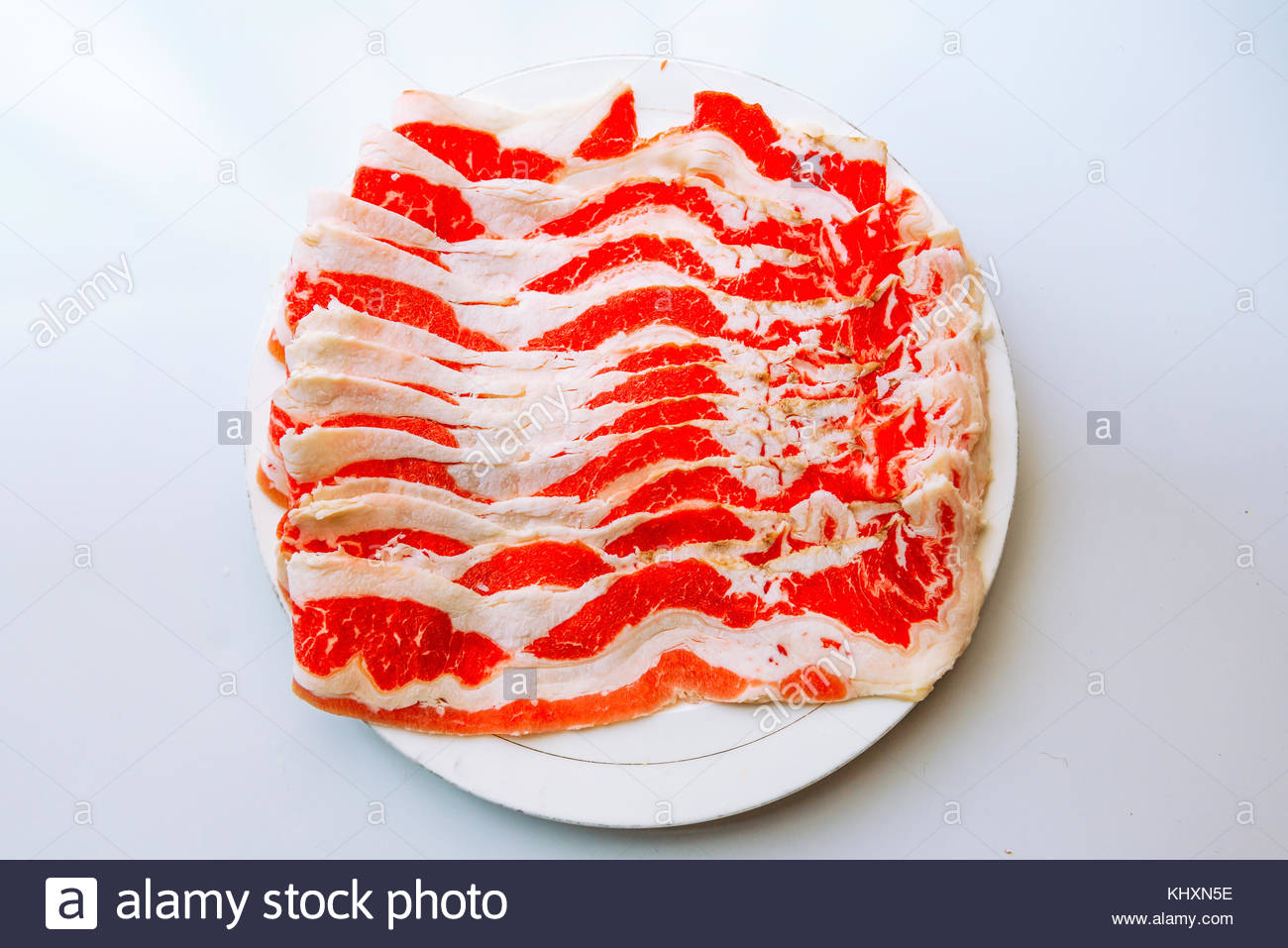 Mutton slices - Stock Image