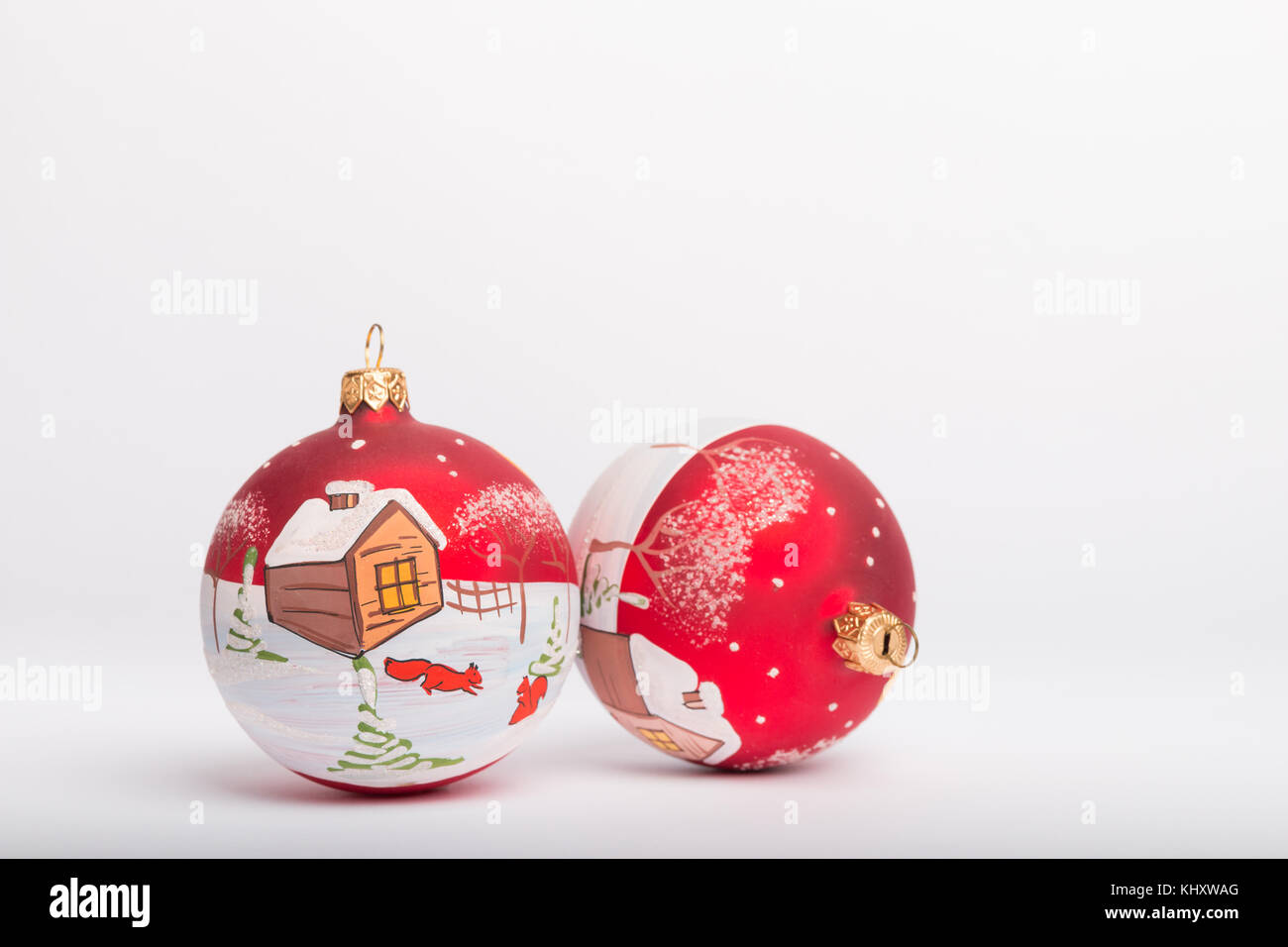 Hand Painted Ball Ornament