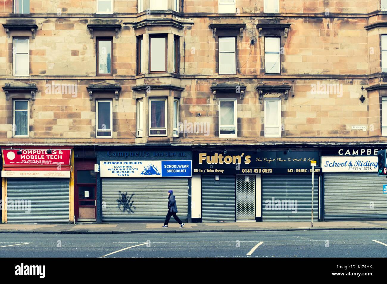 Shops Glasgow Stock Photos Shops Glasgow Stock Images