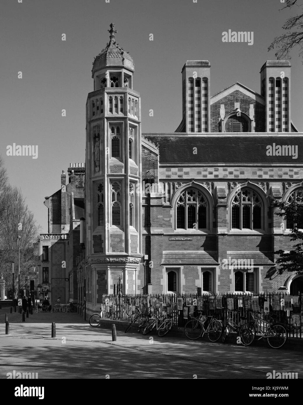 The Old Divinity School of St John's College Cambridge - Stock Image