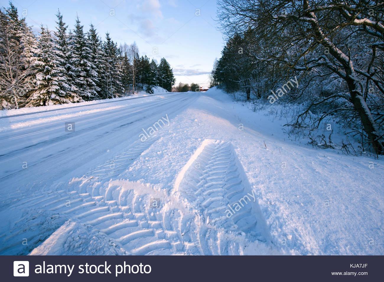 Winter wonderland. - Stock Image