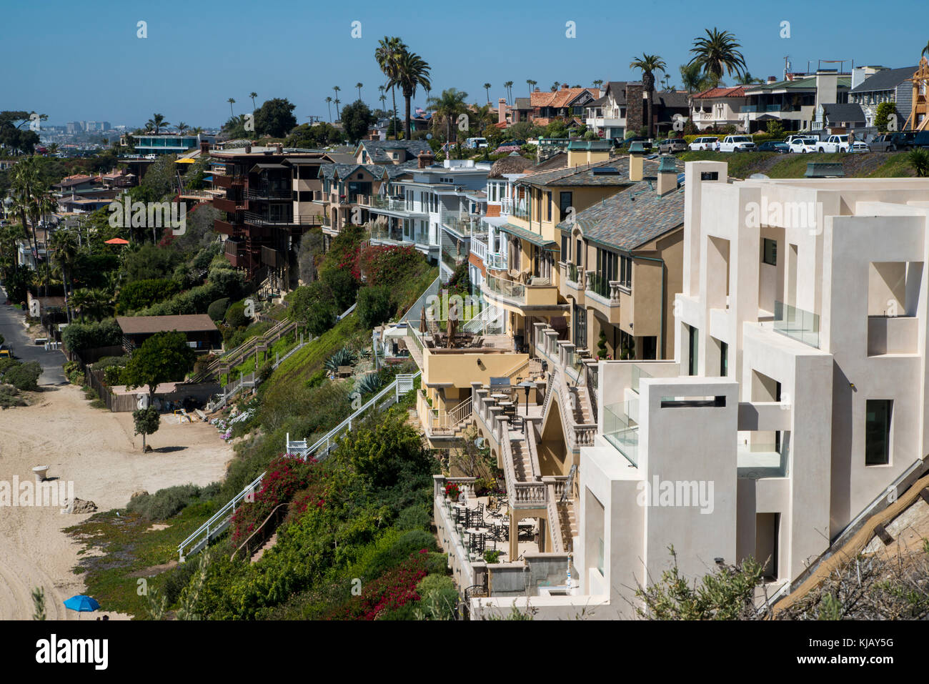 Newport beach california houses stock photos newport for Most expensive house in newport beach