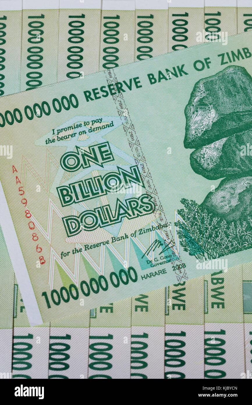 zimbabwe a worthless currency