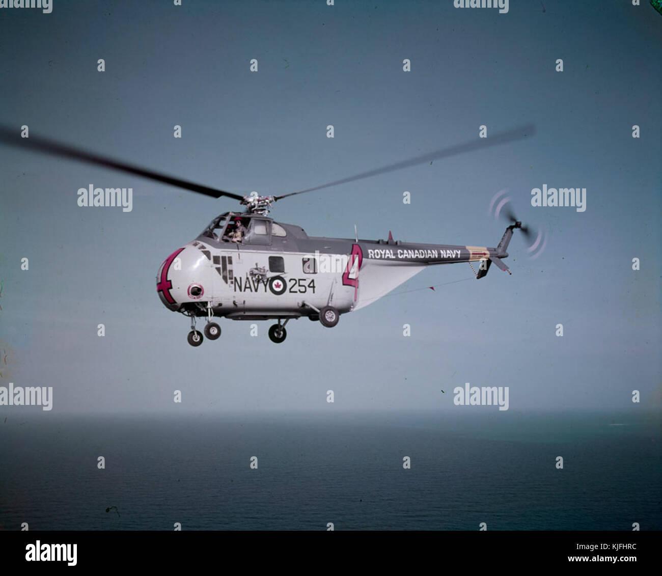 Sikorsky HO4S RCN MIKAN 4821228 - Stock Image