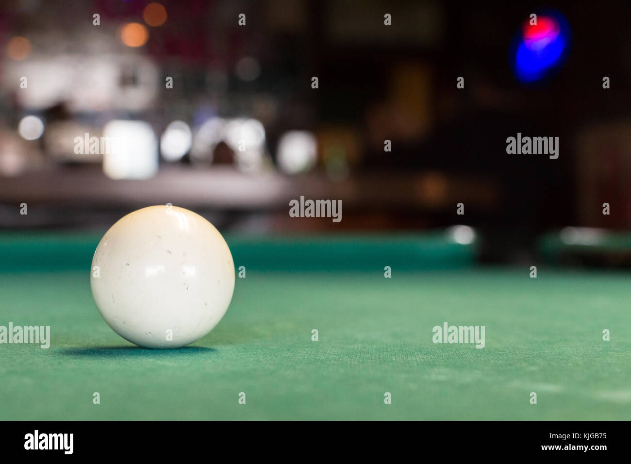 Pool Table Balls Scattered Pool Balls Isol...