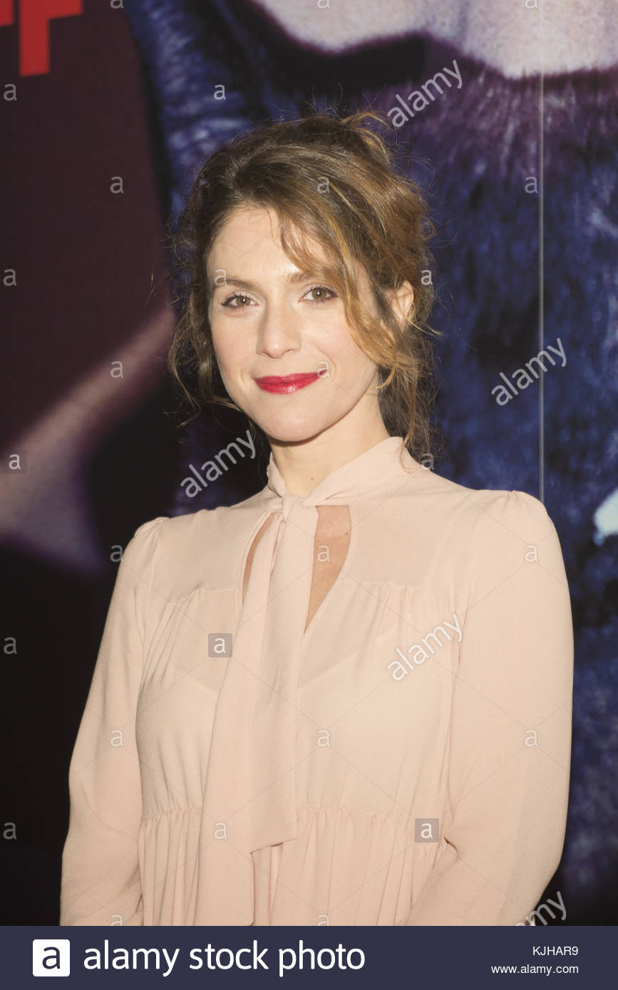 Turin, Italy. 24th Nov, 2017. Isabella Ragonese attends the opening night of the 35th Torino Film Festival in Turin, - Stock Image