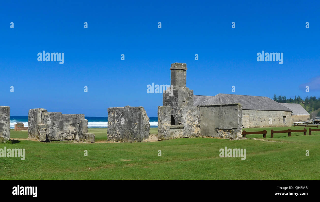 Penal Colony On Norfolk Island