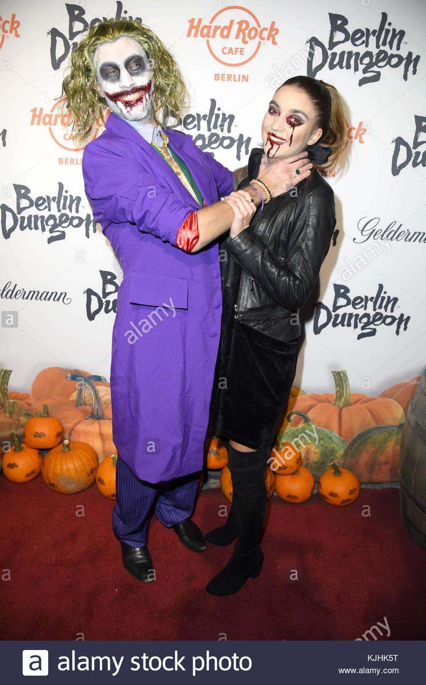 Halloween Party hosted by Natascha Ochsenknecht at Berlin Dungeon.  Featuring: Marc Aurel Zeeb, Sarah Sotgiu Where: - Stock Image