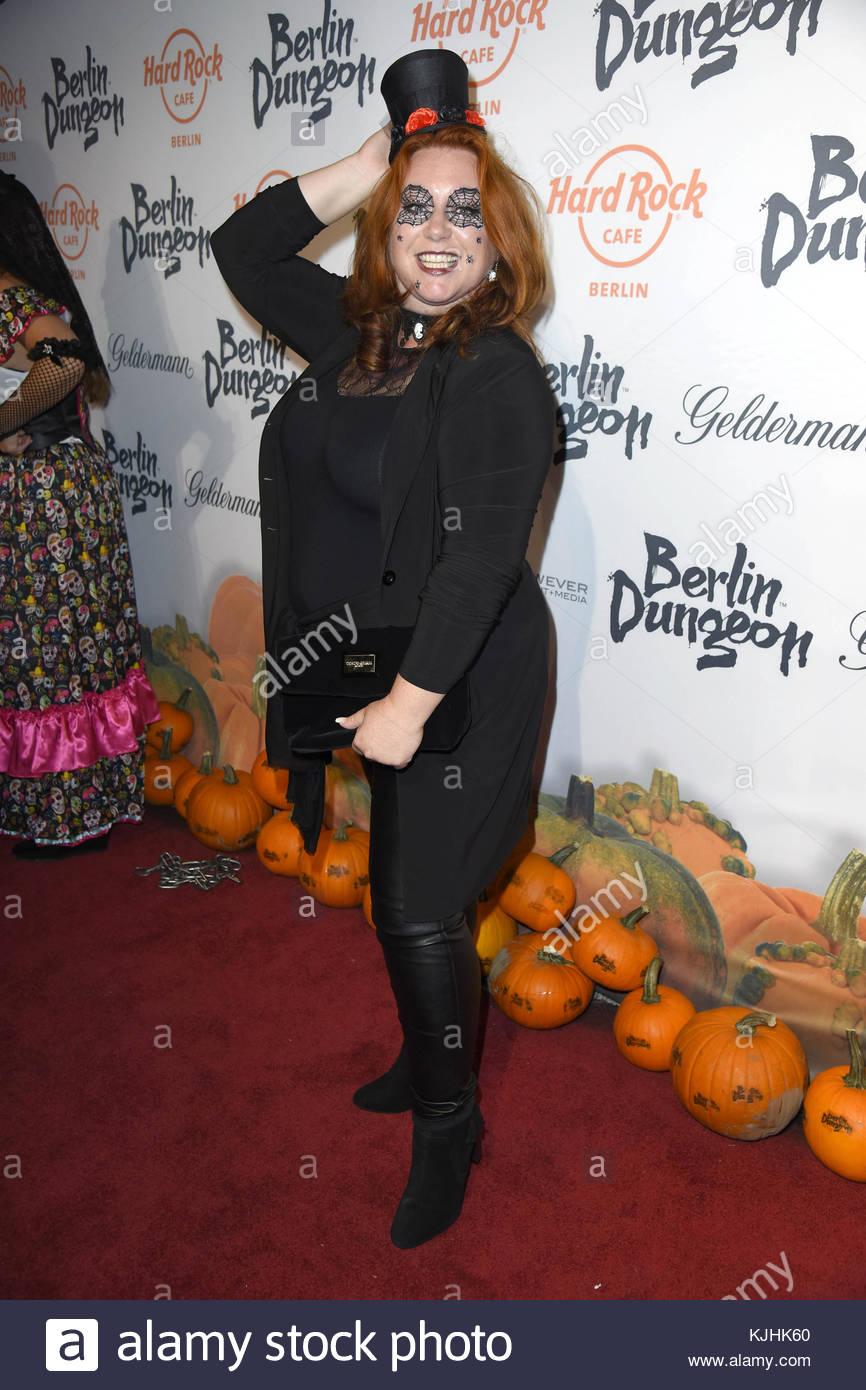 Halloween Party hosted by Natascha Ochsenknecht at Berlin Dungeon.  Featuring: Rebecca Siemoneit-Barum Where: Berlin, - Stock Image