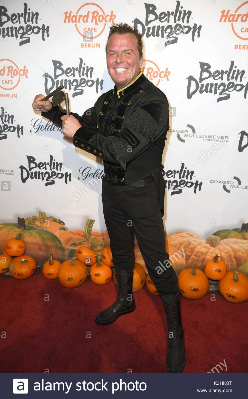 Halloween Party hosted by Natascha Ochsenknecht at Berlin Dungeon.  Featuring: Marcus von Anhalt Where: Berlin, - Stock Image