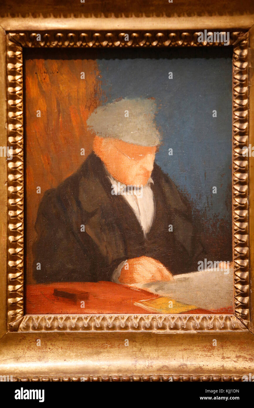 the life of painter and sculptor edgar de gas hilaire Degas began to paint seriously early in his life by eighteen he had turned a  room in his home into an artist's studio, and had begun making copies in the  louvre,.