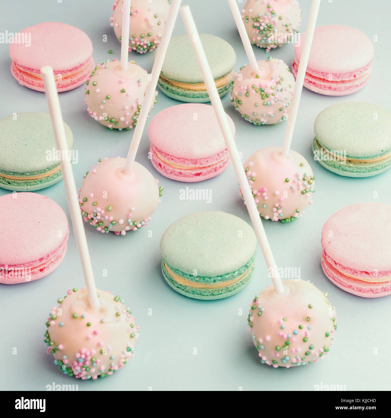 Shades Of Pink Cake Pops