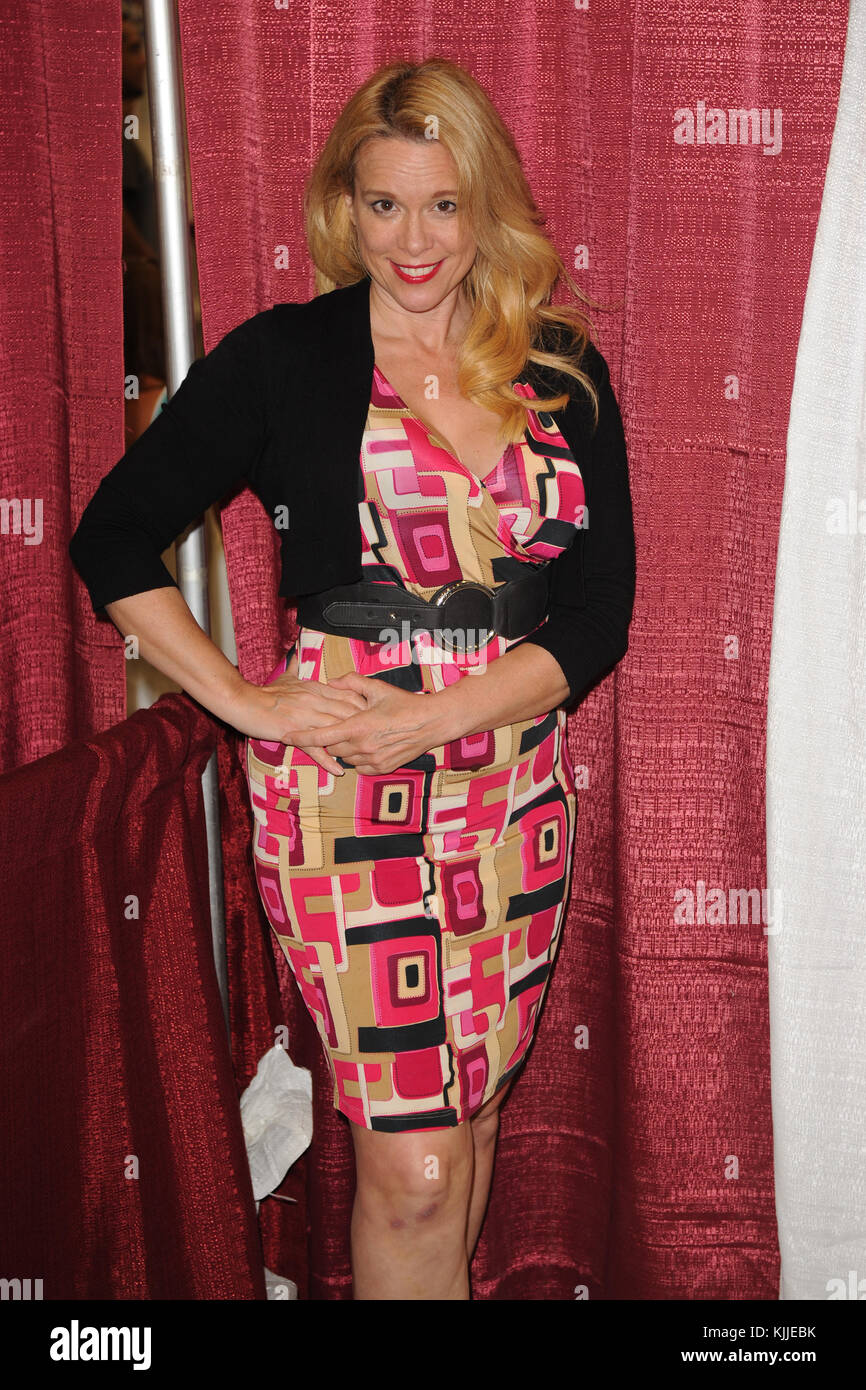 MIAMI BEACH, FL - JULY 02:  Chase Masterson attends Florida Supercon at The Miami Beach Convention Center on July - Stock Image