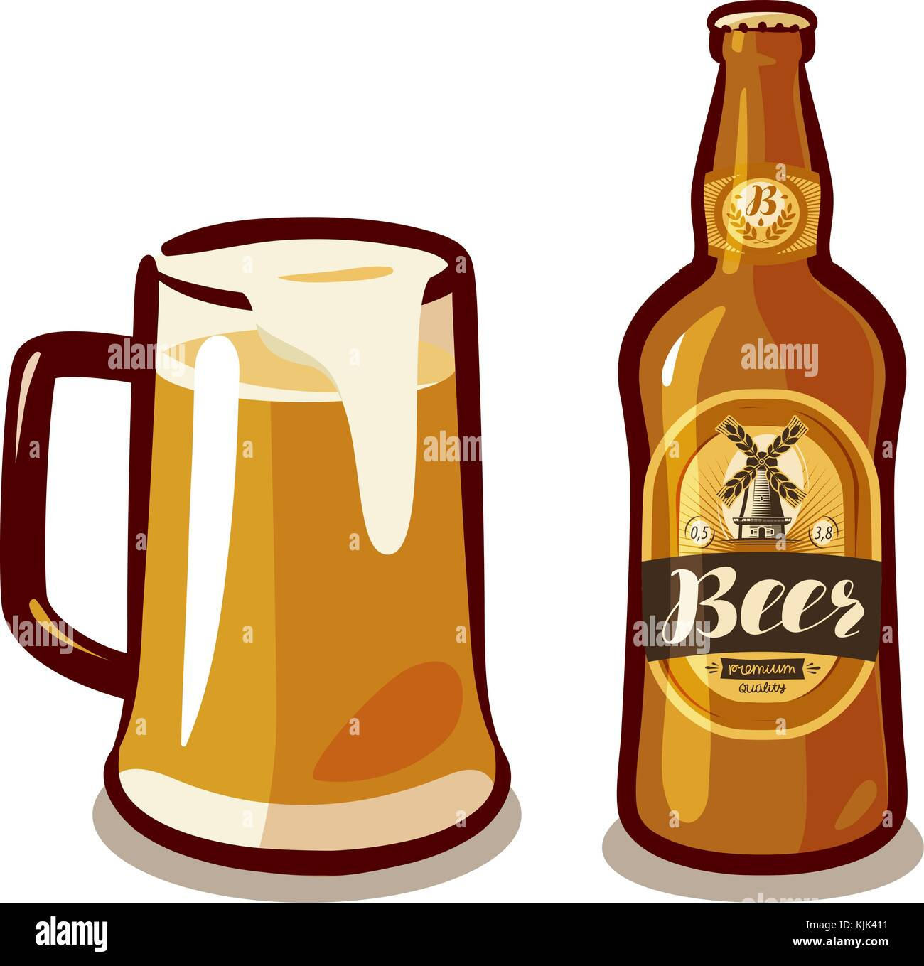 Pub illustration stock photos pub illustration stock for Craft beer pubs near me