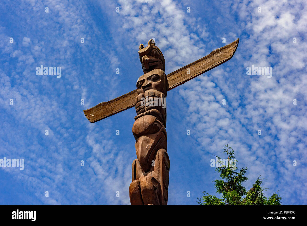 Totem Pole Carving Granville Island
