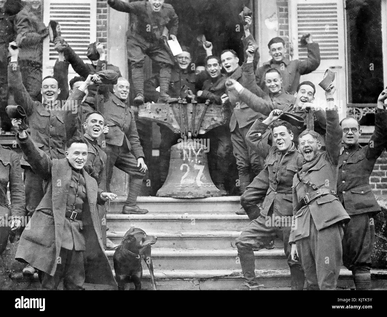 Armistice Signed at Compiegne Marks the End of World War 1