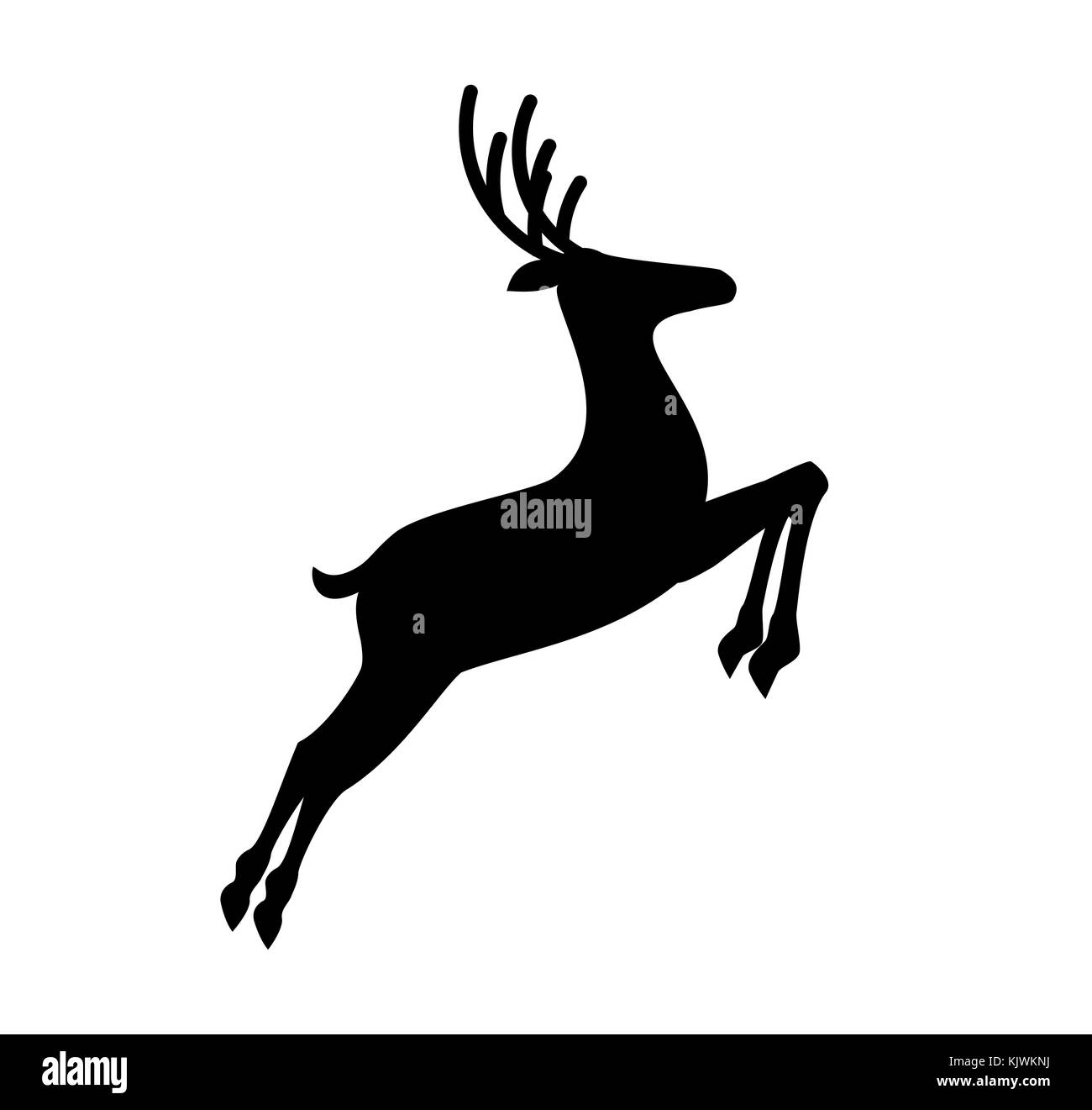 Reindeer Black And White Stock Photos Amp Images Alamy