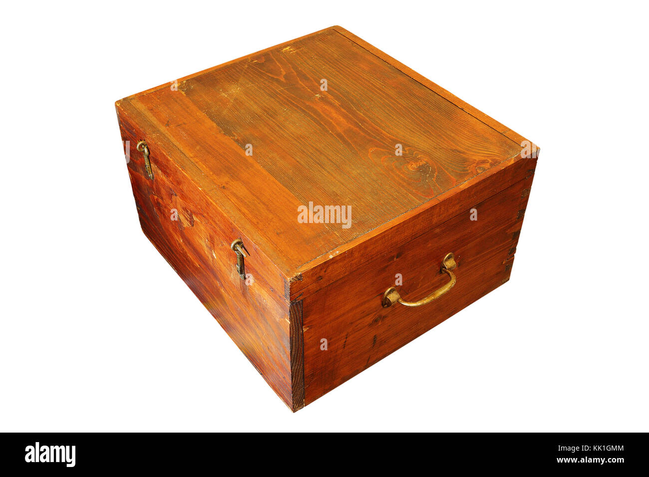 mysterious old wooden treasure chest stock photos