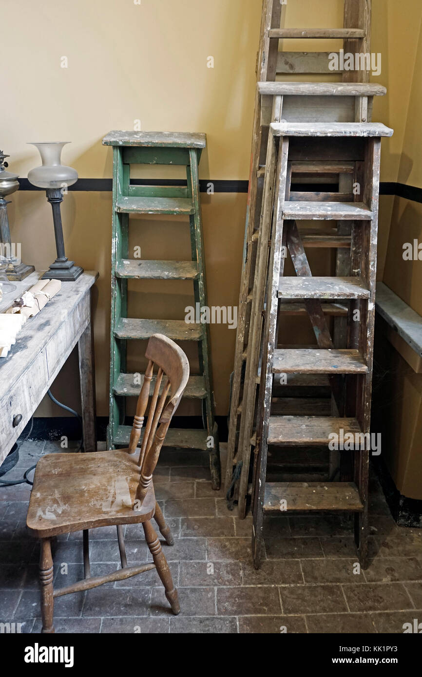 store room - Stock Image