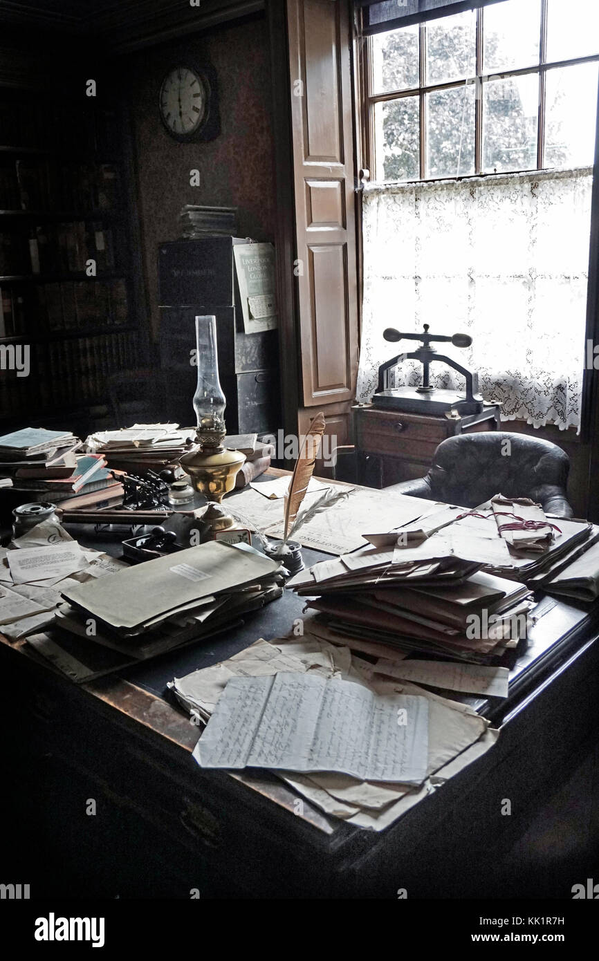 victorian solicitors office - Stock Image