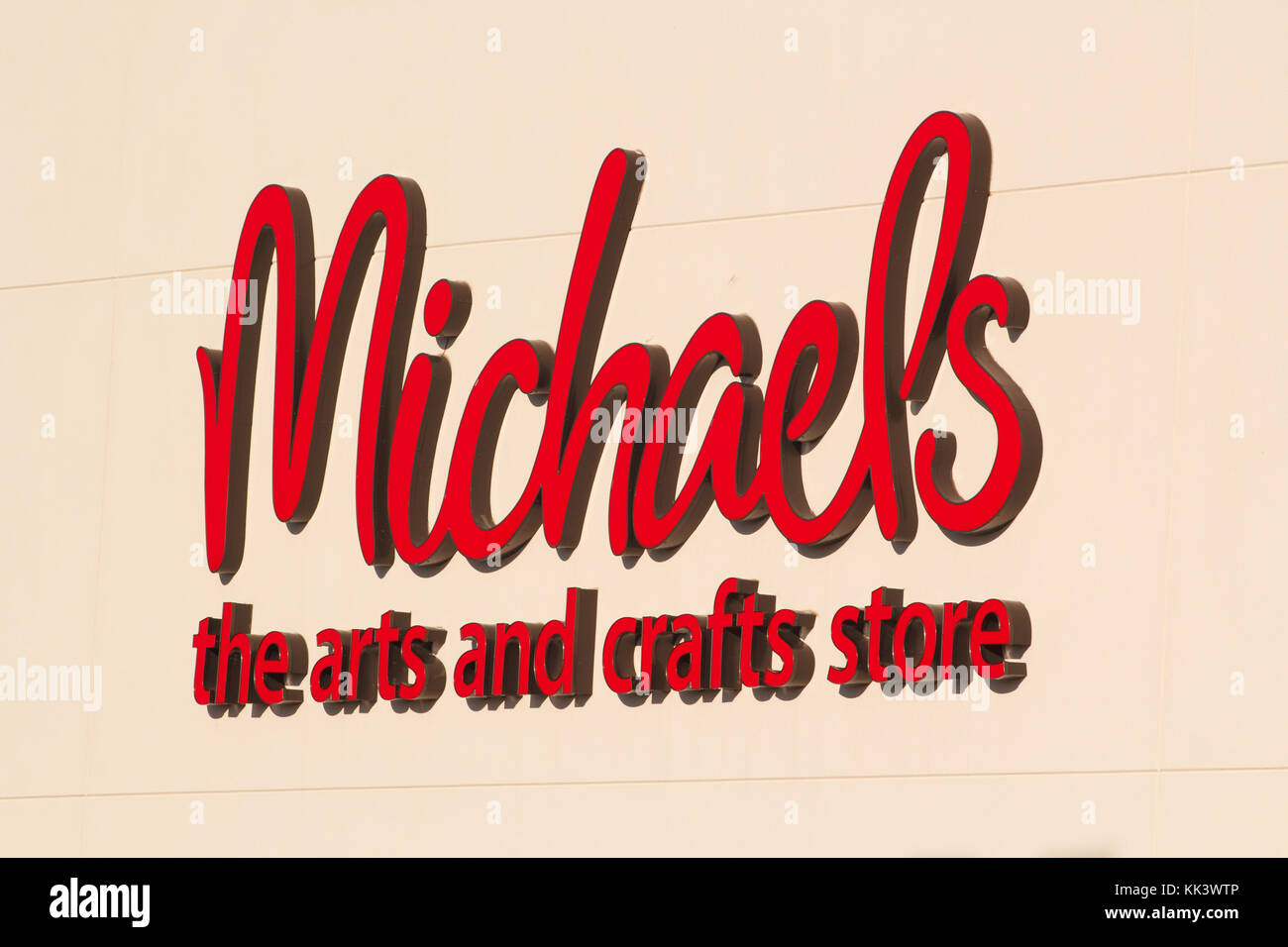 Variety store chain stock photos variety store chain for Michaels arts and crafts queens