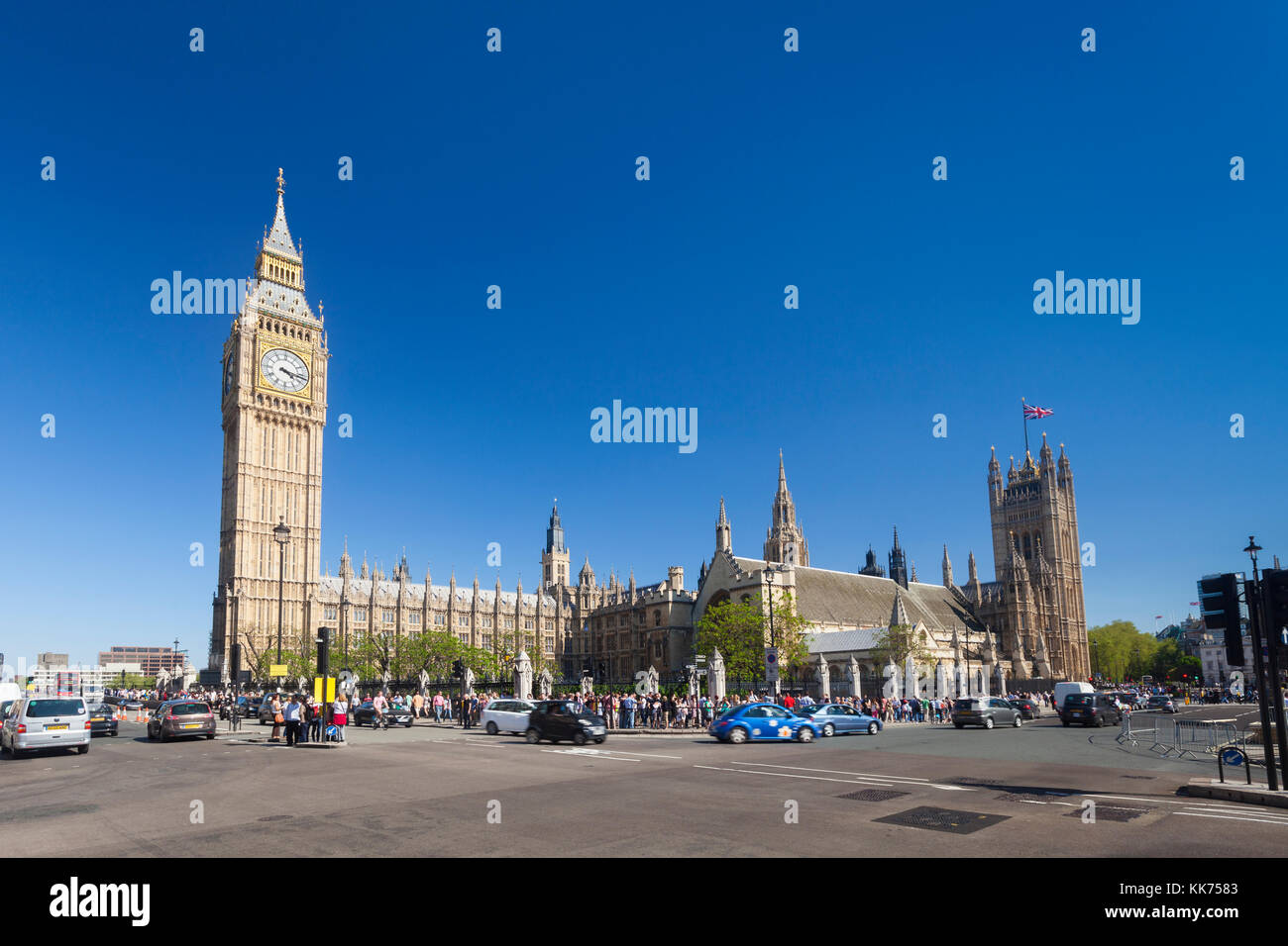 House of parliament, London, England - Stock Image