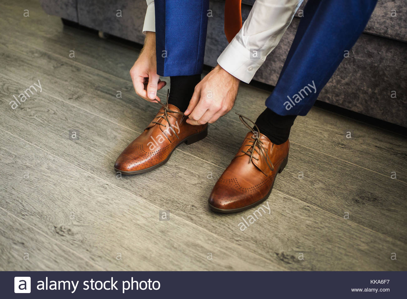 Putting Laces In Dress Shoes