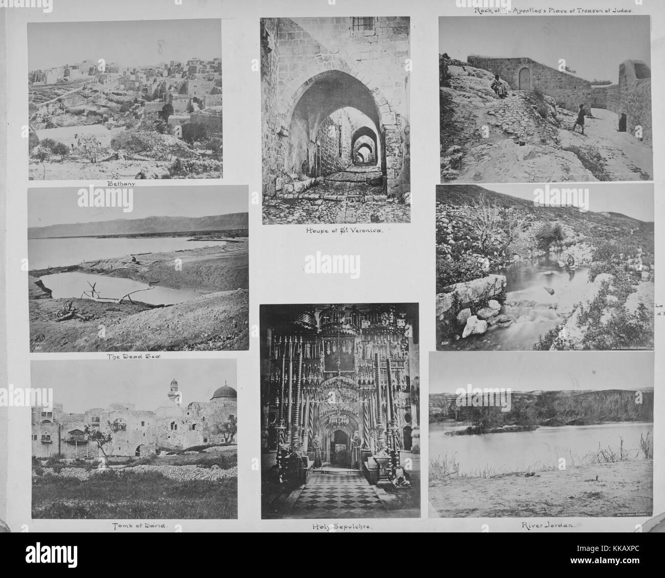 A collection of photographs that are mostly from Israel, starting from the top left and moving clockwise they are - Stock Image