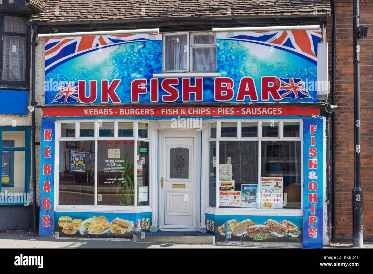 Fish and chip restaurant stock photos fish and chip for Fish chips restaurant