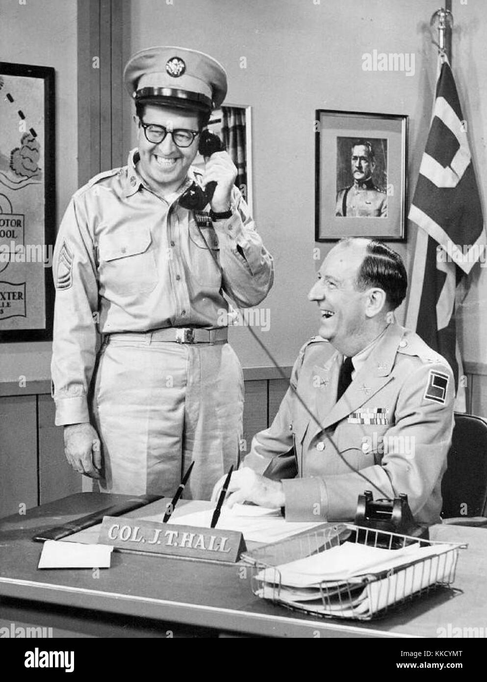 Bilko youll never get rich - Stock Image