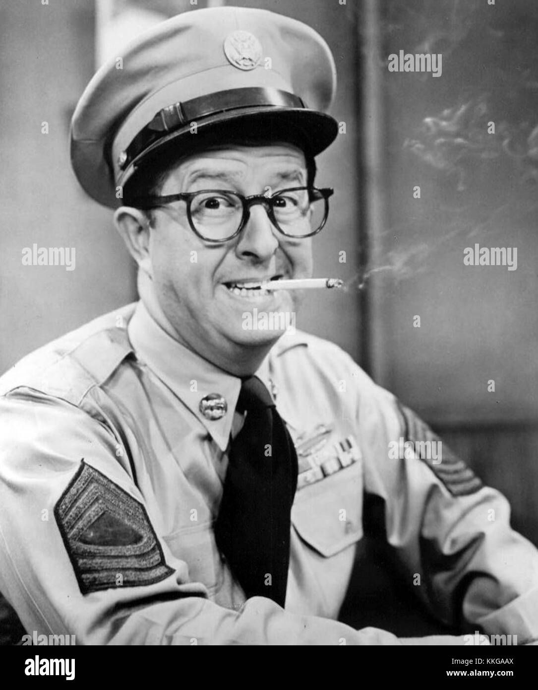Phil silvers as bilko - Stock Image