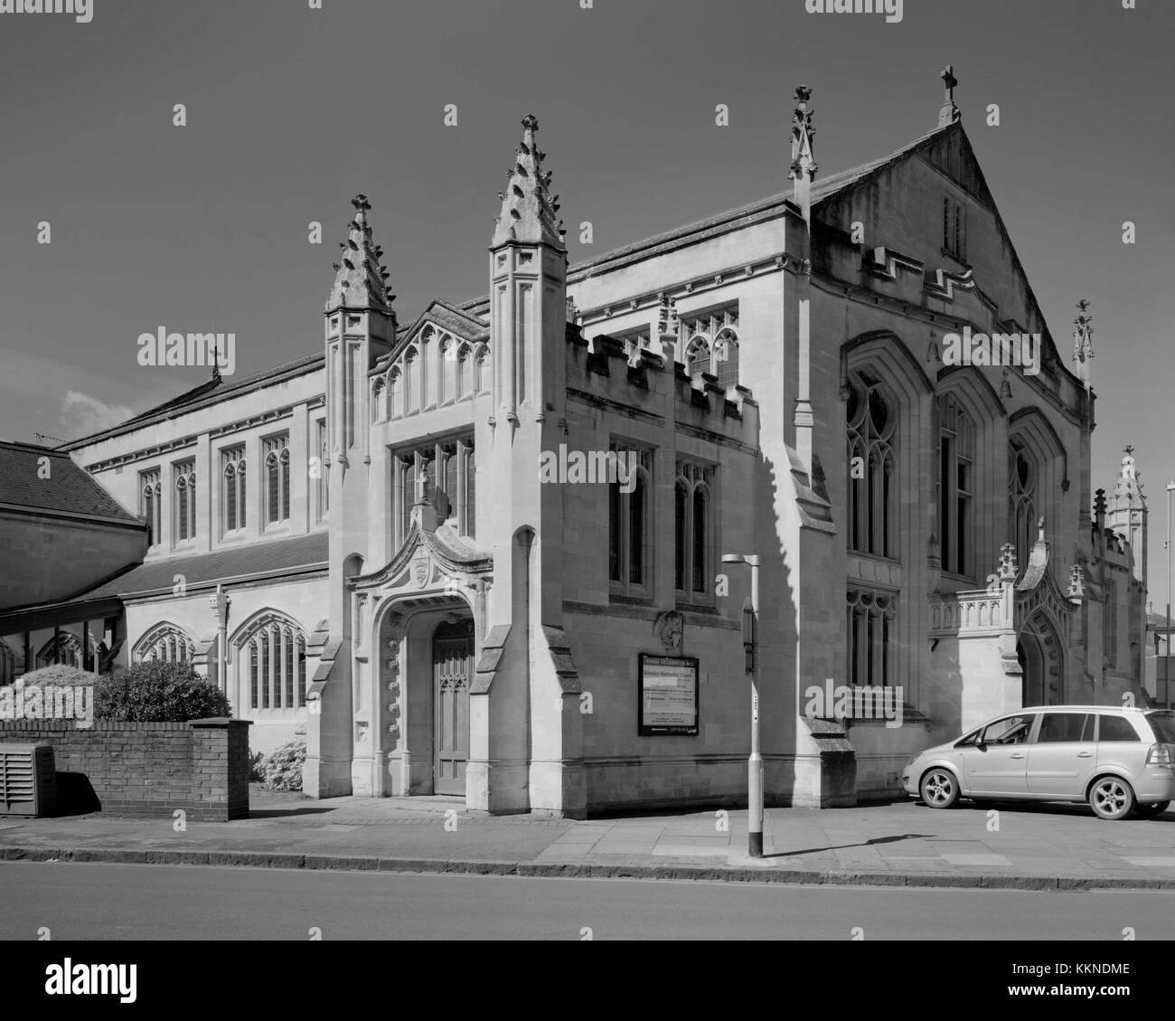 Wesley Methodist Church, Christ's Pieces, Cambridge - Stock Image