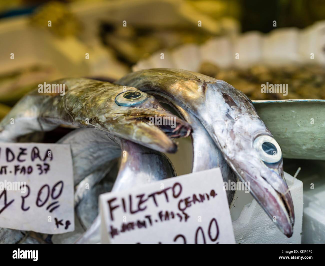 Naples market italy stock photos naples market italy for Cherry street fish market