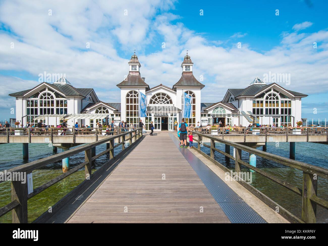 Rugen island sellin stock photos rugen island sellin for Villa sellin rugen