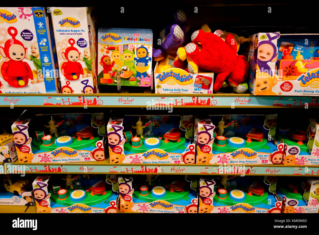 Toys From Hamleys : Toy shop stock photos images alamy