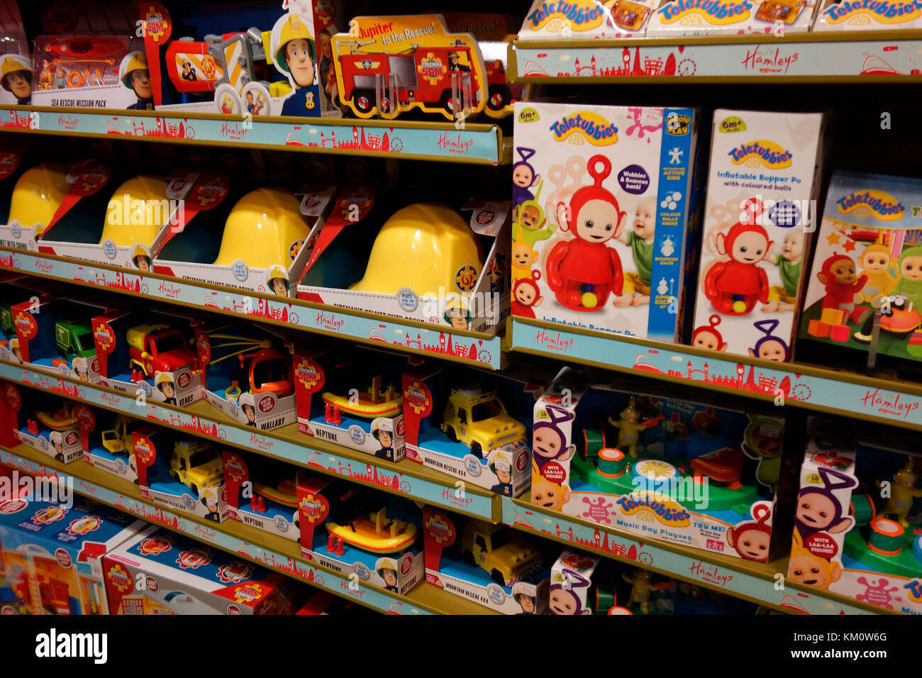 Toys From Hamleys : Hamleys toys stock photos images alamy
