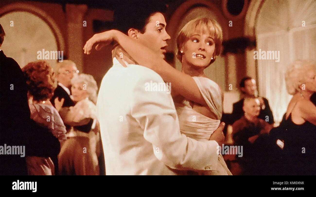 CHANCES ARE 1989 TriStar Pictures film with Robert Downey Jnr and Mary Stuart Masterson - Stock Image