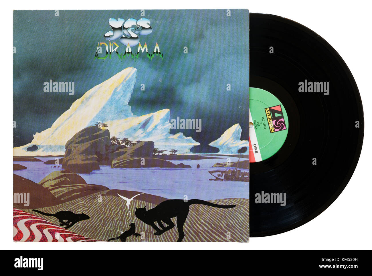 Yes Drama album - Stock Image